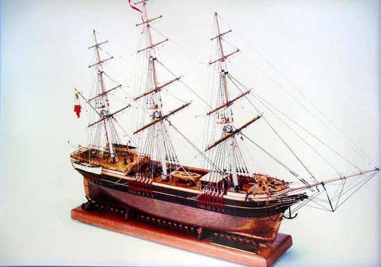 Alt Mecklenburg - 3-Mast-Vollschiff - Schiffsmodell